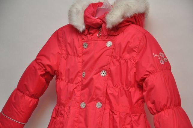 Зимний пуховик пальто SELA. На 5 - 6 лет. Lenne reima chicco.