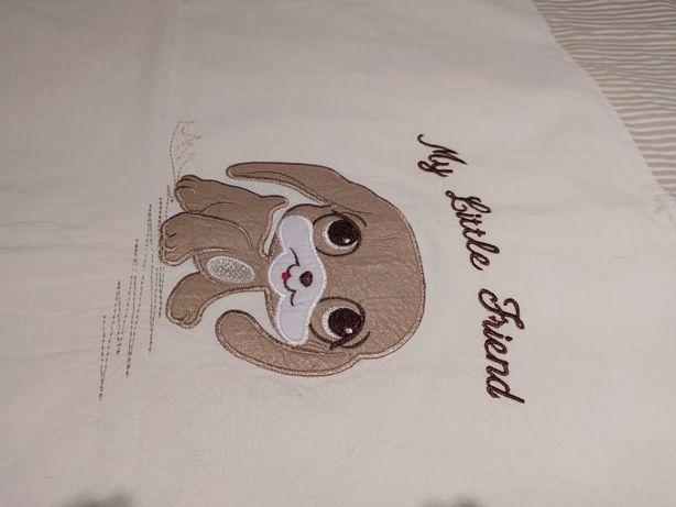 Pościel firmy Ankras do łóżeczka niemowlęcego: poszewka na kołdrę i po
