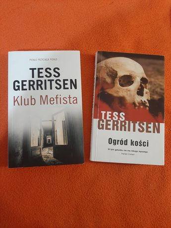 Książki Tess Gerritsen - Ogród kości, Klub Mefista