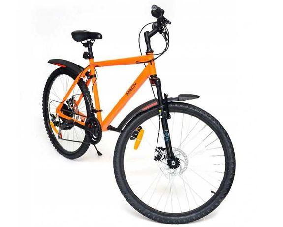 Rower górski MTB 26 pomarańczowy 19 rama MACH CITY HURT-DETAL