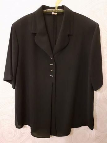 Czarna bluzeczka mgiełka xl 42