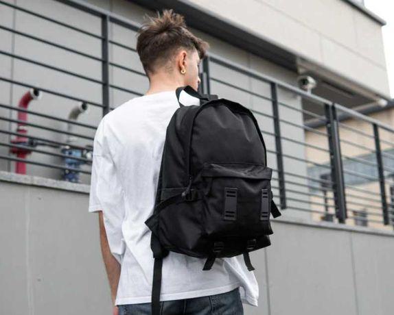 НОВИНКА! Мужской городской черный рюкзак спортивный портфель 15