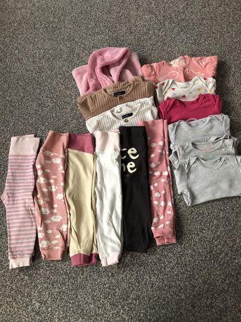 Zestaw ubran dla dziewczynki 74/80 lupilu, reserved, hm