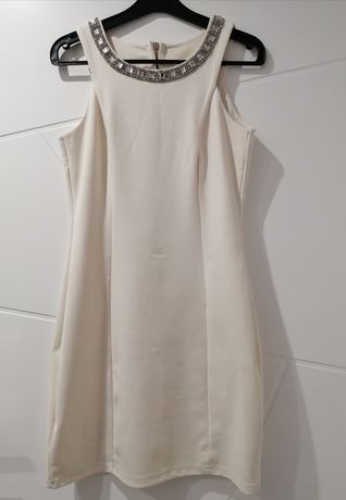 Sukienka mini na ramiączkach. S