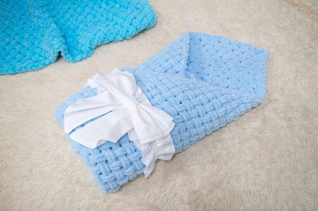 Летний конверт-одеяло для мальчика