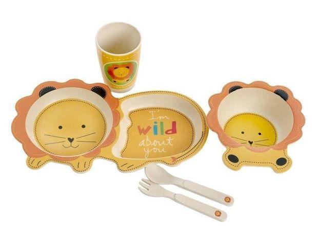 Набор детской бамбуковой посуды