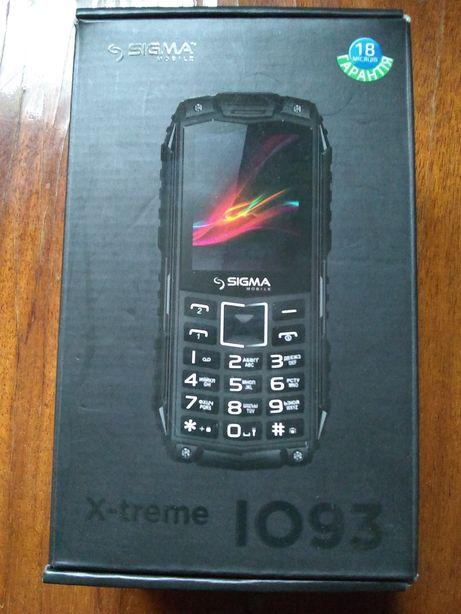 Защищённый телефон Sigma X-treme l093