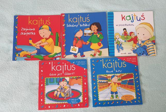 5 książeczek z serii Kajtuś. Cena za całość!