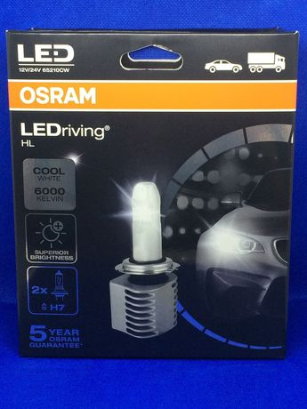 LED Osram LEDriving HL H7 6000K 12-24V 65210CW