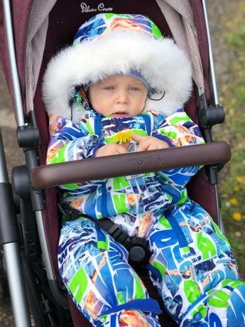 Зимний комбинезон Garden Baby 81 см на овчине