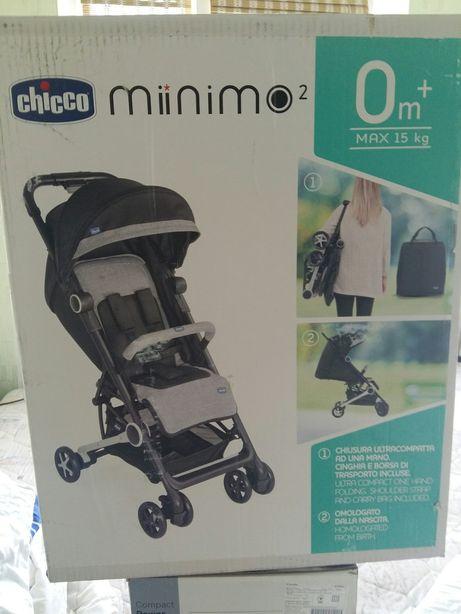 Прогулочная коляска фирмы Chicco Miinimo 2 в идеальном состоянии