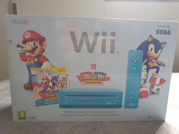 Wii v2 com dois comandos