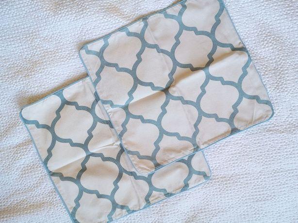 Poszewki na poduszki 2 szt. marokański wzór 40x40