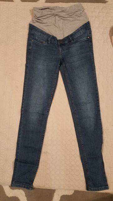 Spodnie ciążowe r. 36 jeansy skinny