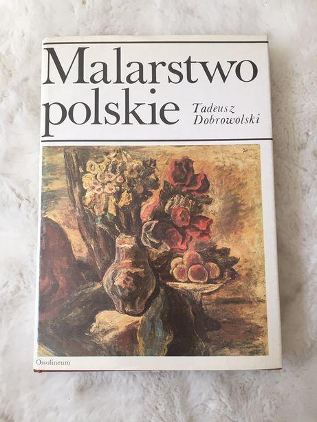 """Książka """"Malarstwo polskie"""" Tadeusz Dobrowolski"""
