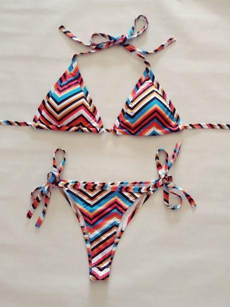 Bikini estampado
