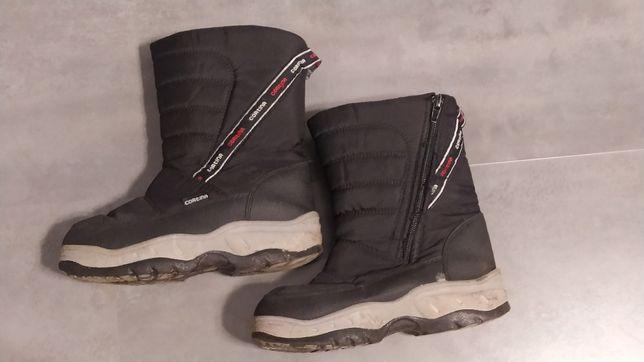 Śniegowce Cortina czarne 36 WYPRZEDAŻ