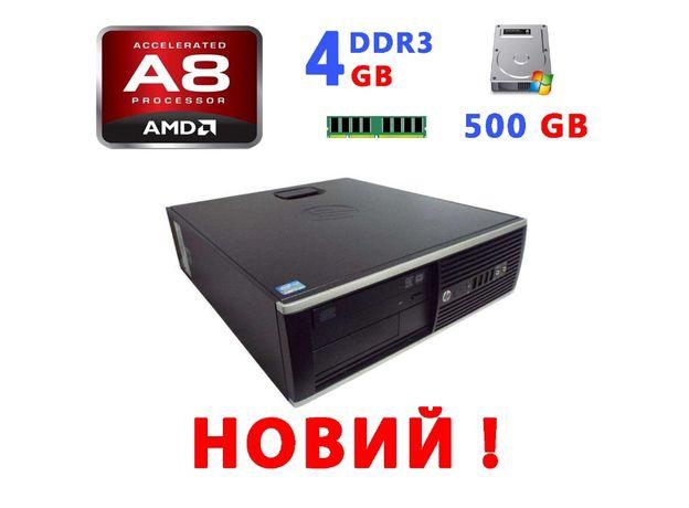 ПК НОВИЙ HP Compaq 6305 Pro SFF (AMD A8-5500B / DDR3 4Gb / HDD 500Gb)