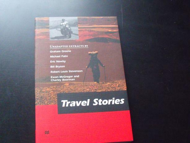 """Książka napisana w języku angielskim """"Travel Stories"""""""