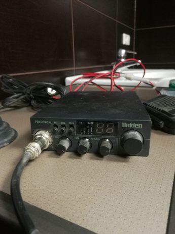 CB radio Uniden plus antena President