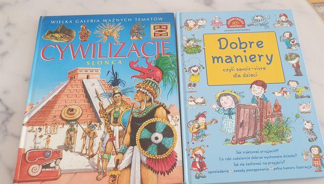 Cywilizacje słońca Dobre maniery książka dla dzieci