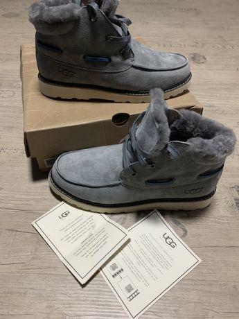 UGG УГГИ ботинки зимние натуральные 100% серые в наличии