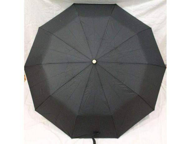 Зонт полуавтомат в 3 сложения, мужской зонт