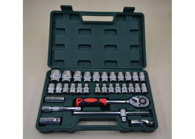 Набор инструментов 32 единиц с рабочим квадратом 1/2 из стали