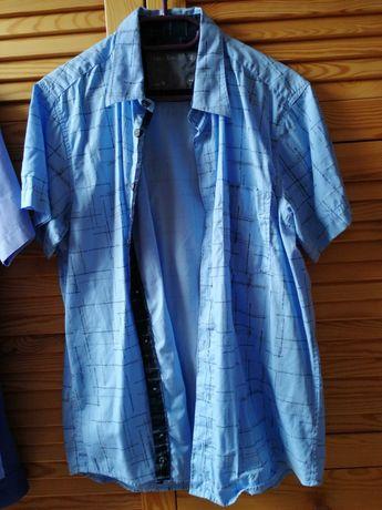 Koszule 3szt. - 2 x krótki rękaw r. M + 1 x długi rękaw r. L