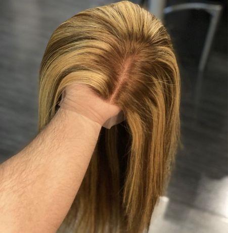 Naturalna peruka lace front