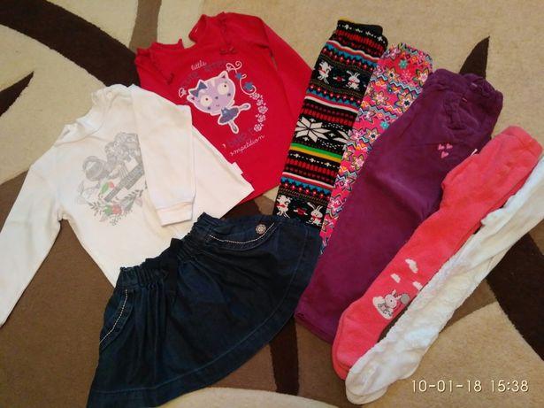 Пакет вещей на девочку 2-3.5 года