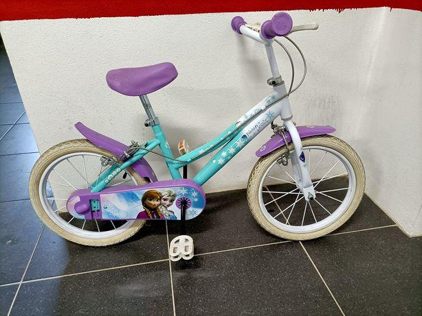 Bicicleta crianças Frozen
