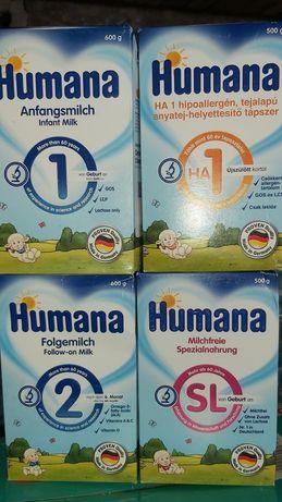 Смесь Humana SL НА ГА Антиколик AR Хумана Гипоаллергенная Антирефлюкс