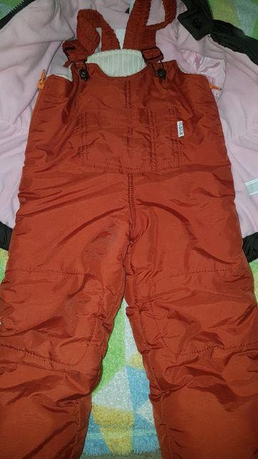 Демисезонный полукомбинезон, весенние штаны