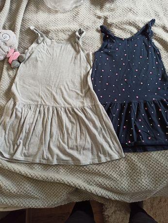 Sukienki 122/128 H&M