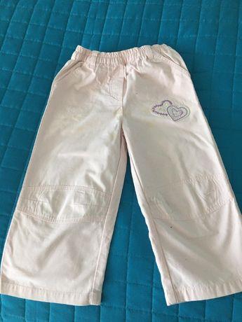 Spodnie, różowe, rozm. 104, CHEROKEE