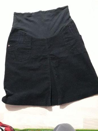Sweter tunika spódnica z H.M. Ubrania ciążowe