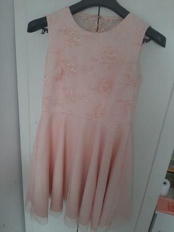 Sukienka brzoskwiniowa r L