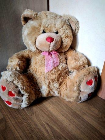 Новый Плюшевый медведь 50см