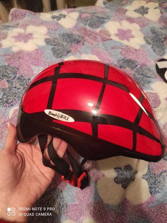 Защитный детский набор шлем+наколенники+налокотники