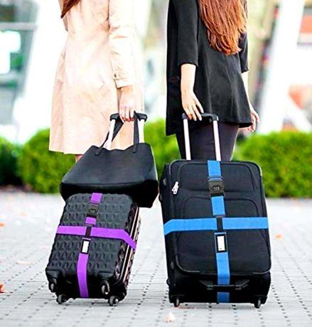 Pas bagażowy z szyfrem