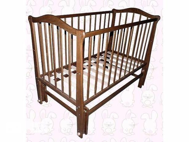 Ліжечко дитяче матрац постіль бортики балдахін