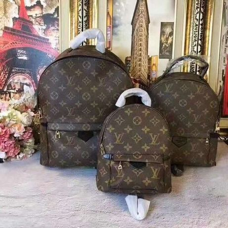 Рюкзак, сумка Луи Витон, Louis Vuitton backpack, кожаный