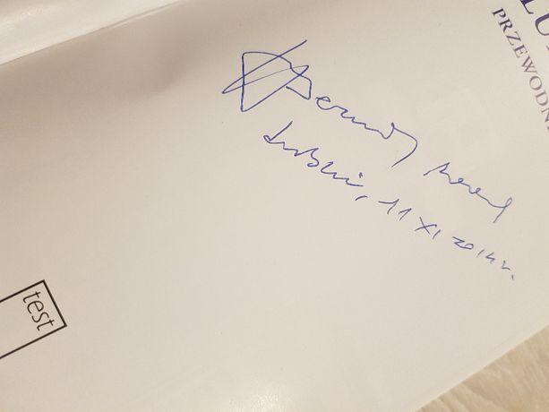 autograf dedykacja bernard nowak lublin przewodnik