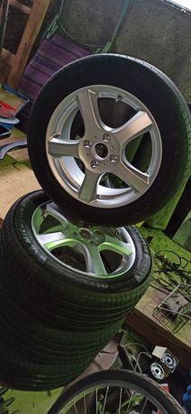 "16"" 63,4mm 6,5J ET46 4X108 Enzo Germany 17r alufelgi Ford Focus Mazda"