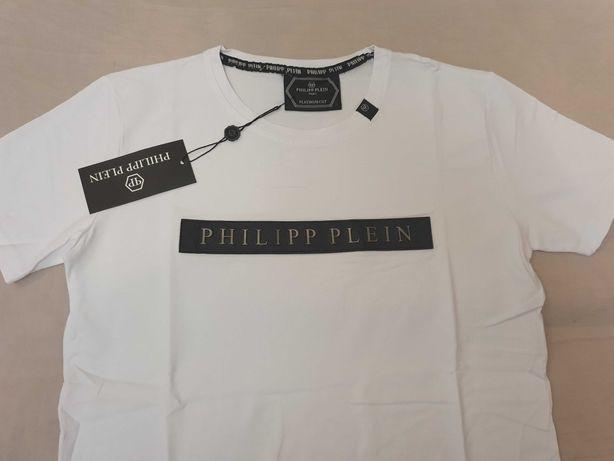 NOWY tshirt Philipp Plein S -6xl koszulka PP DUŻY ROZMIAR Blaszka hit