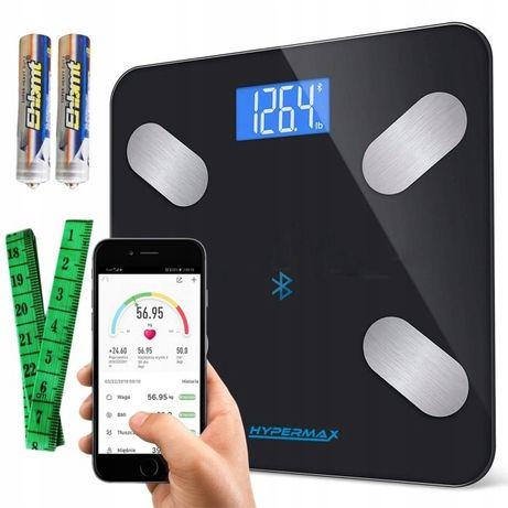 Inteligentna smart waga łazienkowa bluetoothSiłowniaOdchudzanie+gratis