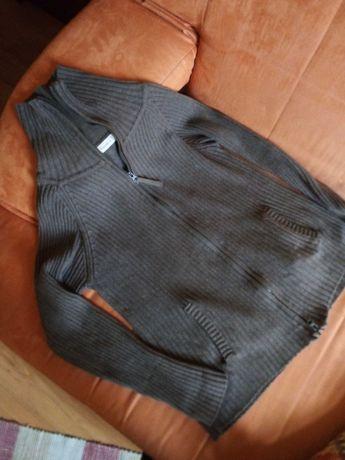 Swetr damski  czekoladowy brąz