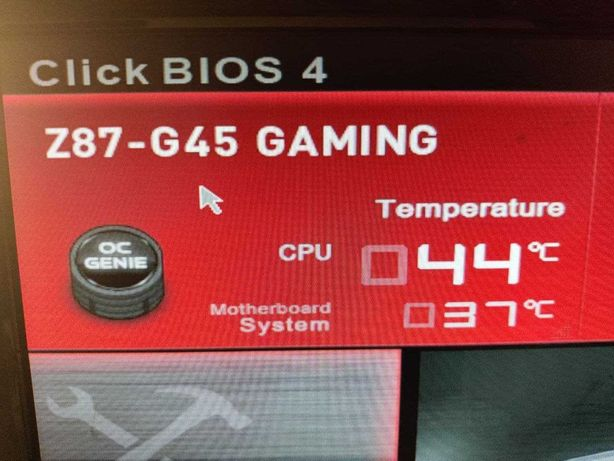 Motherbard MSI Z87 - G45 Gaming