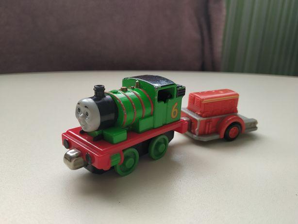 Паровозик металл Перси и вагон Mattel